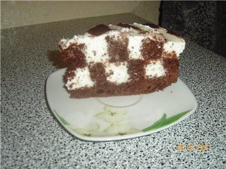 Вот такой я готовила торт, очень простой рецепт, и готовиться легко,на вкус очень вкуспый и лёгкий,... - 2