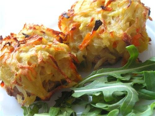 Мясной хлеб с горчичной корочкой Запеченные котлеты под картофельной корочкой - 2