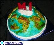 торт губка Боб торт планета - 6