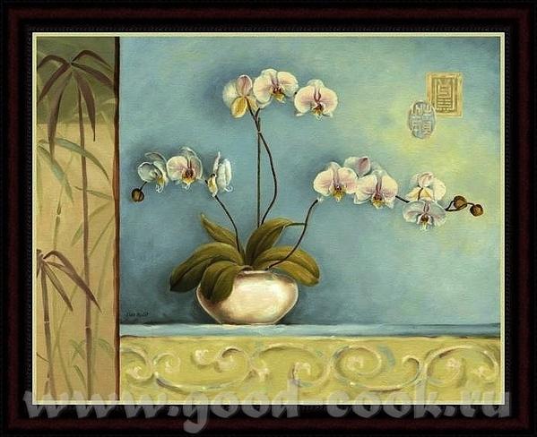 Надюнчик У меня есть такие картины с орхидеями может быть они вам понравится Martin Johnson - 2