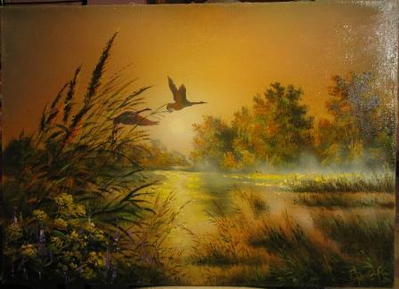 новые картины художника покажу я его уже вам показывала он добавил недавно на продажу Ковальчук (Ют...