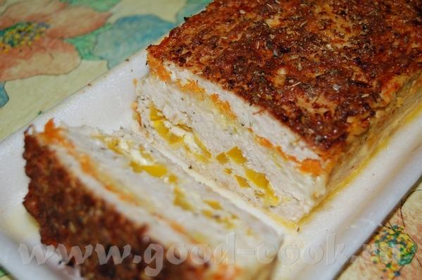 Запеканка из куриного филе с паприкой: 0,7 кг куриного филе 1 большая паприка 1 морковь 2 луковицы... - 3