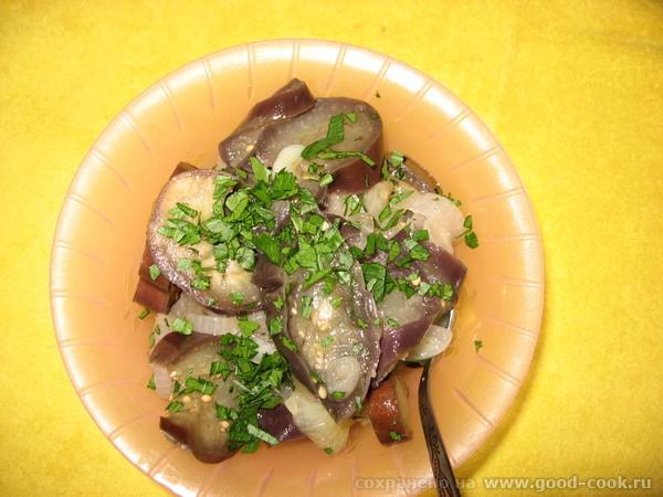 закуска баклажановая