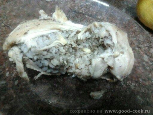 фаршированные куринные окорочка