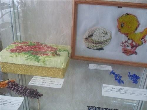 недавно проходила в городе творческая выставка детей города - 3