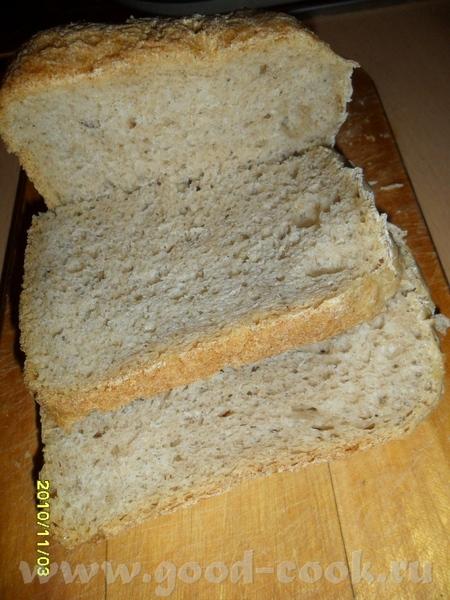 а у меня кажется тоже хлеб получился