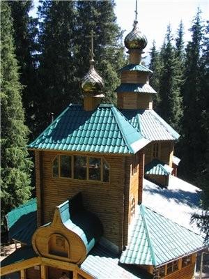 А теперь немного окрестностей Алматы Большое Алматинское озеро: Аксайское ущелье, мужской монастырь... - 5