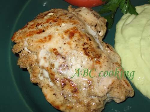 """Lemon Chicken with Guacamole Sause Этот замечательный рецепт я нашла в книге Linda Fraser""""Quick and... - 3"""