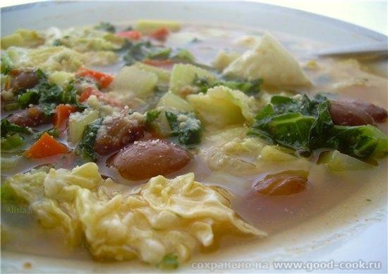 Надя, я его Суп minestrone на сырном бульоне все таки испытала