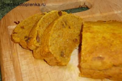 Большое спасибо Алине за Тыквенно - кукурузный кекс от Миленчик Я правда сделала его без кукурузной...