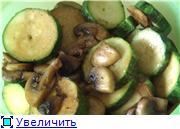 Салат из грибов и цуккини