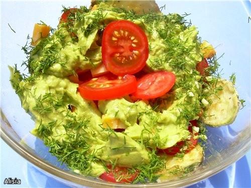 Из-за жары eсли и хочется кушать, то только овощи, увидела у Вalерия салатик, все овощи для него у... - 2