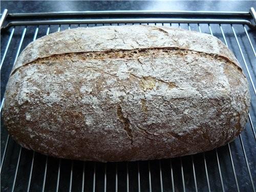 Хлеб с зёрнами на ржаной 12-16 час - 6