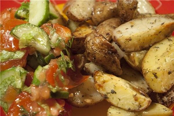 У нас на днях был вкусный КАРТОФЕЛЬ С ЧЕРНОСЛИВОМ и любимое постное блюдо моего мужа: Картофель по-... - 2