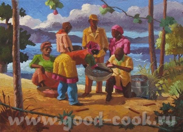 CUBA, JAMAICA- кубинское искусство, ямайское искусство CUBA- xудожник Valle Cuba- xудожник Alain C... - 5