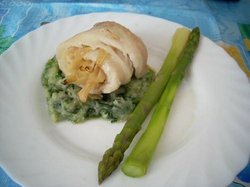 своеобразное блюдо, для любителей фенхеля
