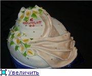 торт с каллами на юбилей