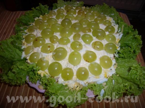 Хочу выложить салатики , которые я делала по уже всем давно известным рецептам