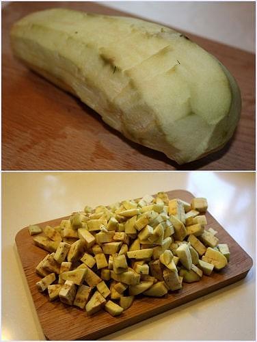 Овощи готовим к процессу очень просто