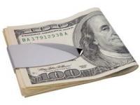 Нашла и сразу воплотила в жизнь - подарок мужчине - зажим для денег, выполнен в виде большой скрепк...