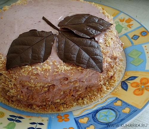 Можно и я пристрюсь рядышком со своим скромненьким тортиком Впервые украшала