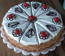 а это вот мои самые первые торты вот уж точно мученики - 4