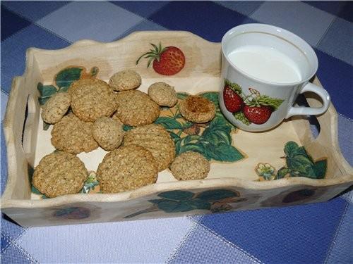 Кому печенье, только из духовки, да ещё с молоком, свежим, только что из под коровы пачки