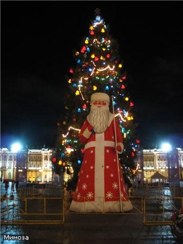 Главная елка Питера - 2007