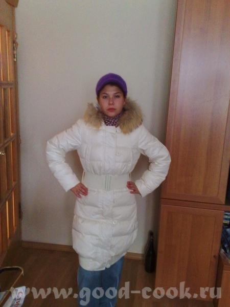 купили вчера спортивное пальто-куртку, правда оно мне немного большое ( место для свитеров оставлен... - 2
