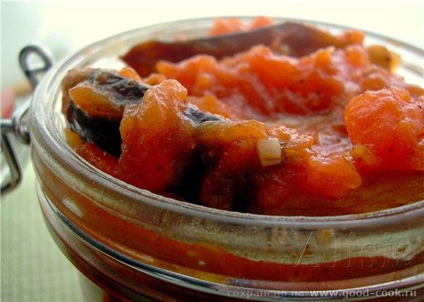 Антипасты из баклажана по итальянски / Antipasto d'aubergines / - 2
