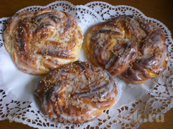 Творожная плетёнка Topfenstrieze Замечательно вкусный пирожок из моего любимого творожно-масляного... - 2