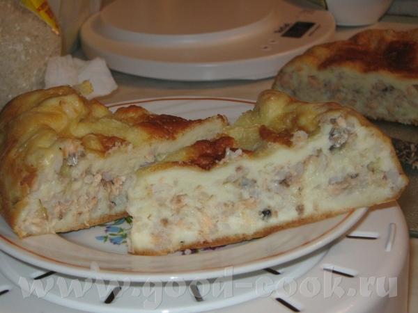 Рыбный пирожок Для теста: 250 гр - 2