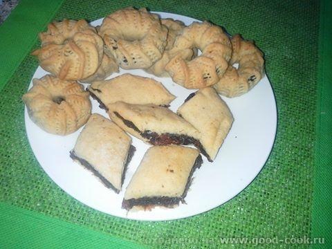 арабсккое традиционное печенье с финиковой пастой - тамерие