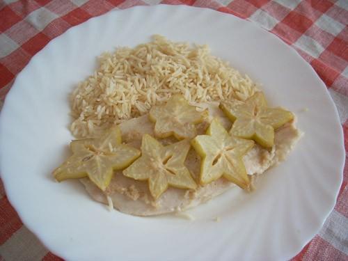 Шашлычки из лосося Треска, запечённая с хреном и сметаной Филе рыбы, запечённое с имбирём и карамбо... - 3