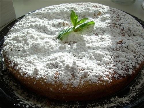 Яблочный пирог с Фисташками и Пломбиром