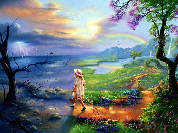 Jim Warren- Несущая весну ----------------------------------- великолепная красота