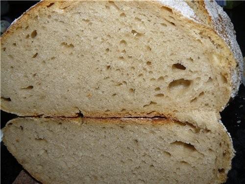 Это после холодильника, перед выпечкой первого хлеба - 6