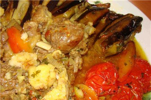 Вот хочу показать блюдо, которое часто готовится у нас дома - 5