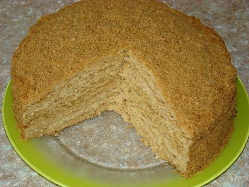 Торт медовый «Любимый» от Нади - Слова автора * Маргарин — 100 г * Яйцо — 3 шт * Сахар (+ дополните...