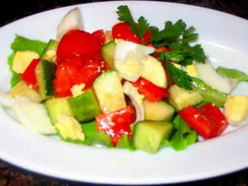 Девочки у нас сегодня на ужин: салат Парадиз салат Соната суп-харчо - 2