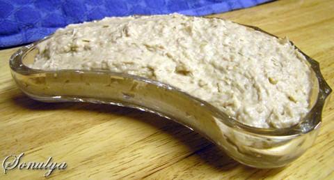 Форшмак (pецепт моей бабушки ) 3 филе сельди, среднего размера маленькая луковичка палочка (~100 г)...