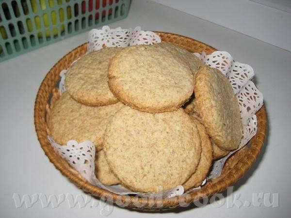 Олечке спасибо за печенье овсяно-цельнозерновое