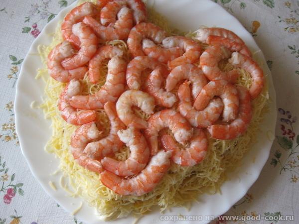Салат ко дню святого Валентина от Очень вкусный салатик получился, спасибо Свете