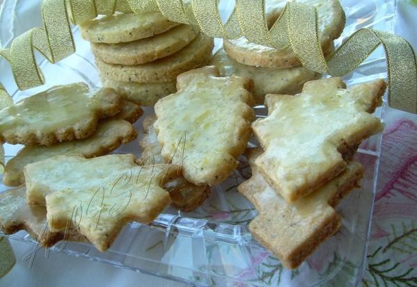 B преддверии нового года я начала выставлять блюда для праздничного стола, были уже: ЛИМОННО МАКОВЫ... - 2