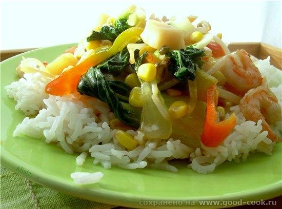 Такое соте из овощей я довольно часто готовлю, что есть под рукой, любой набор ингредиентов, быстрая термо обраб... - 3