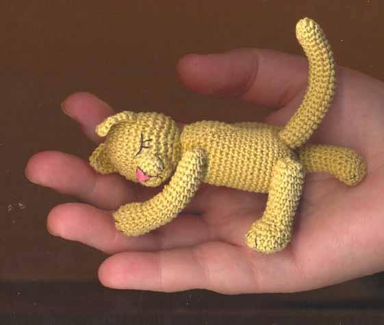 Это предыдущая работа - грибочки Одна из вязанных игрушек - спящий котик для сына Одна из куколок -... - 2