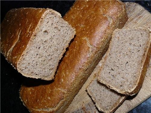 По нормальному этот хлеб делается с настоящей бездрожжевой закваской и ещё добавлением дрожжей в те...