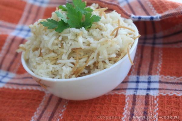 Рисовый пилаф с вермишелью