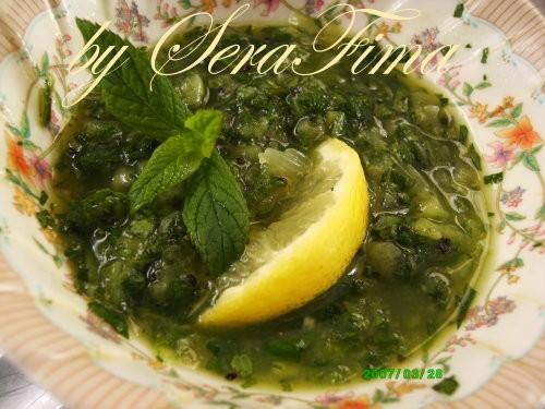 """""""Мтаббаль"""" (дип из баклажана с тхание пастой и лимонным соком) Я делаю без чеснока супчик тыквенный... - 3"""