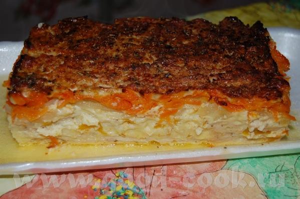 Запеканка из куриного филе с паприкой: 0,7 кг куриного филе 1 большая паприка 1 морковь 2 луковицы... - 2